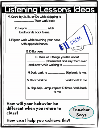 Classroom Management Tips