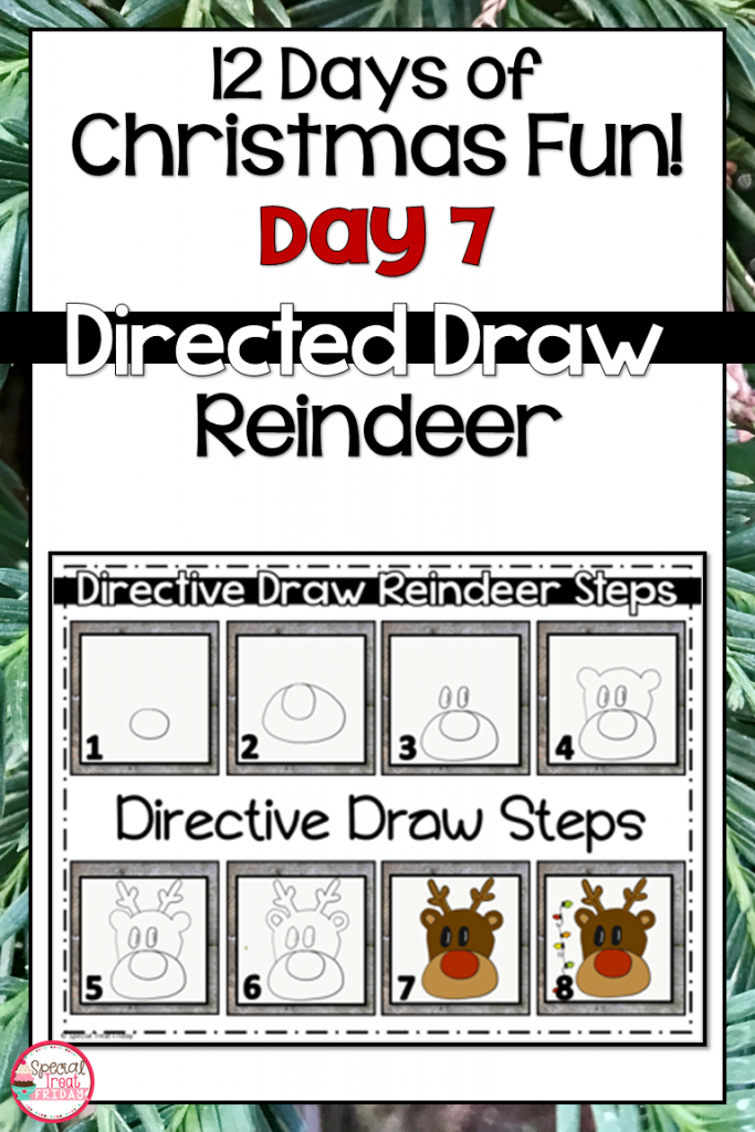 Directed Draw Reindeer